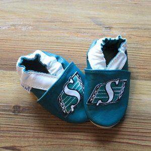 Saskatchewan Roughriders Infant Slippers